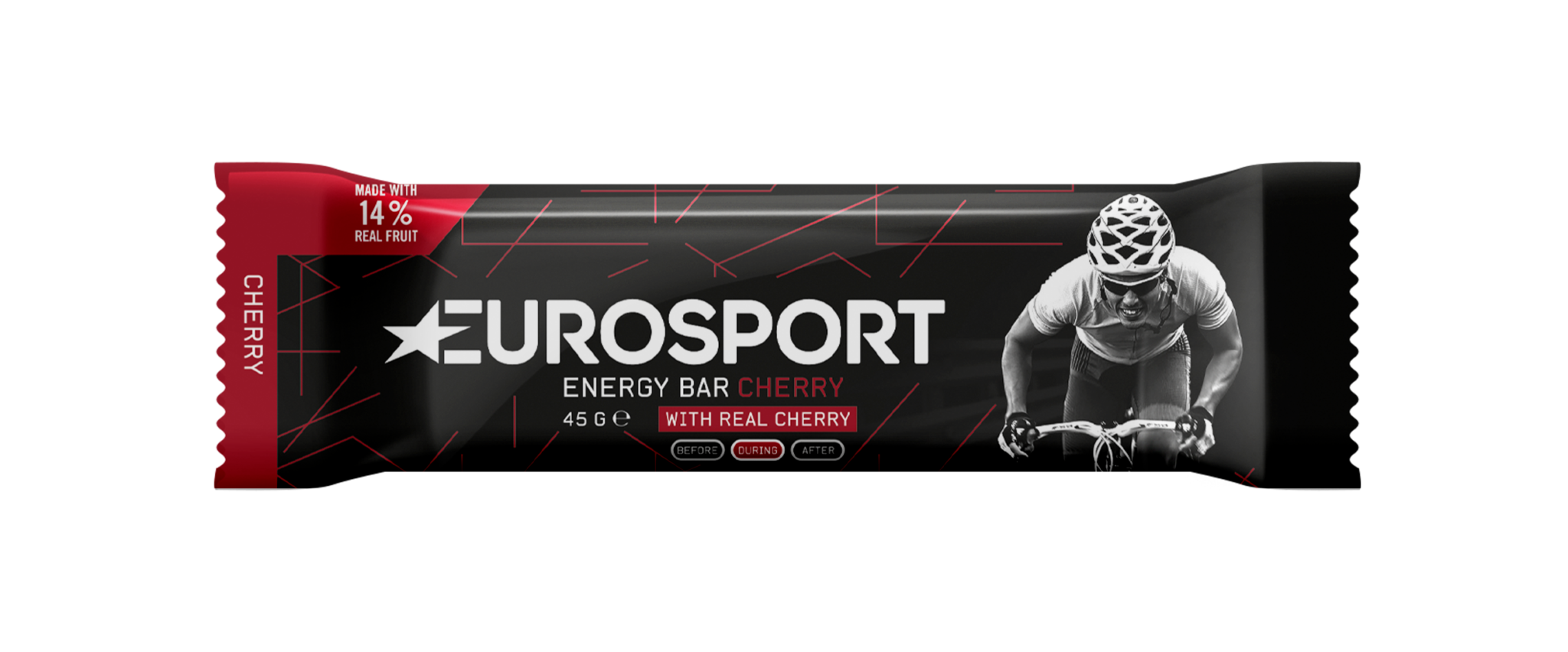 Eurosport - Energy Bar Cherry - Reep - 3D