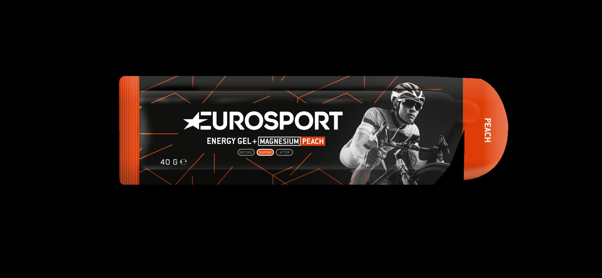 Eurosport - Energy Gel + Magnesium_Peach_3D_