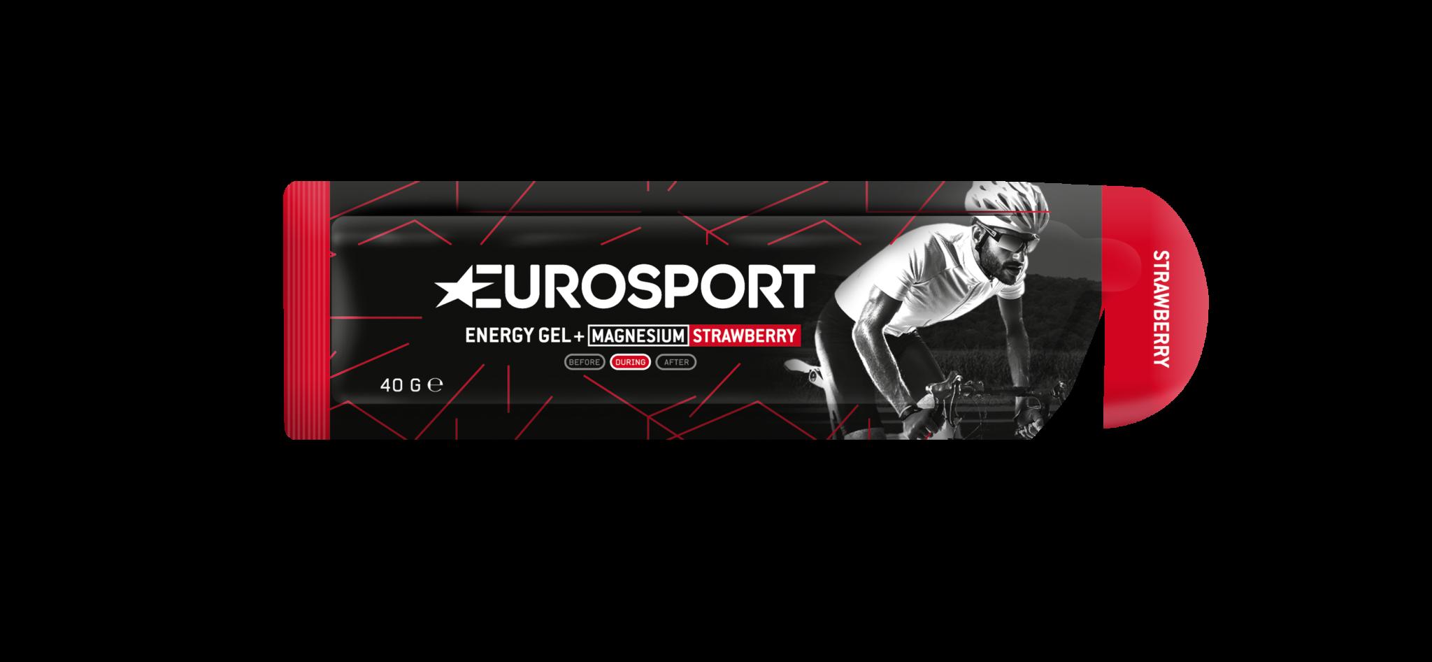 Eurosport - Energy Gel + Magnesium_Strawberry_3D