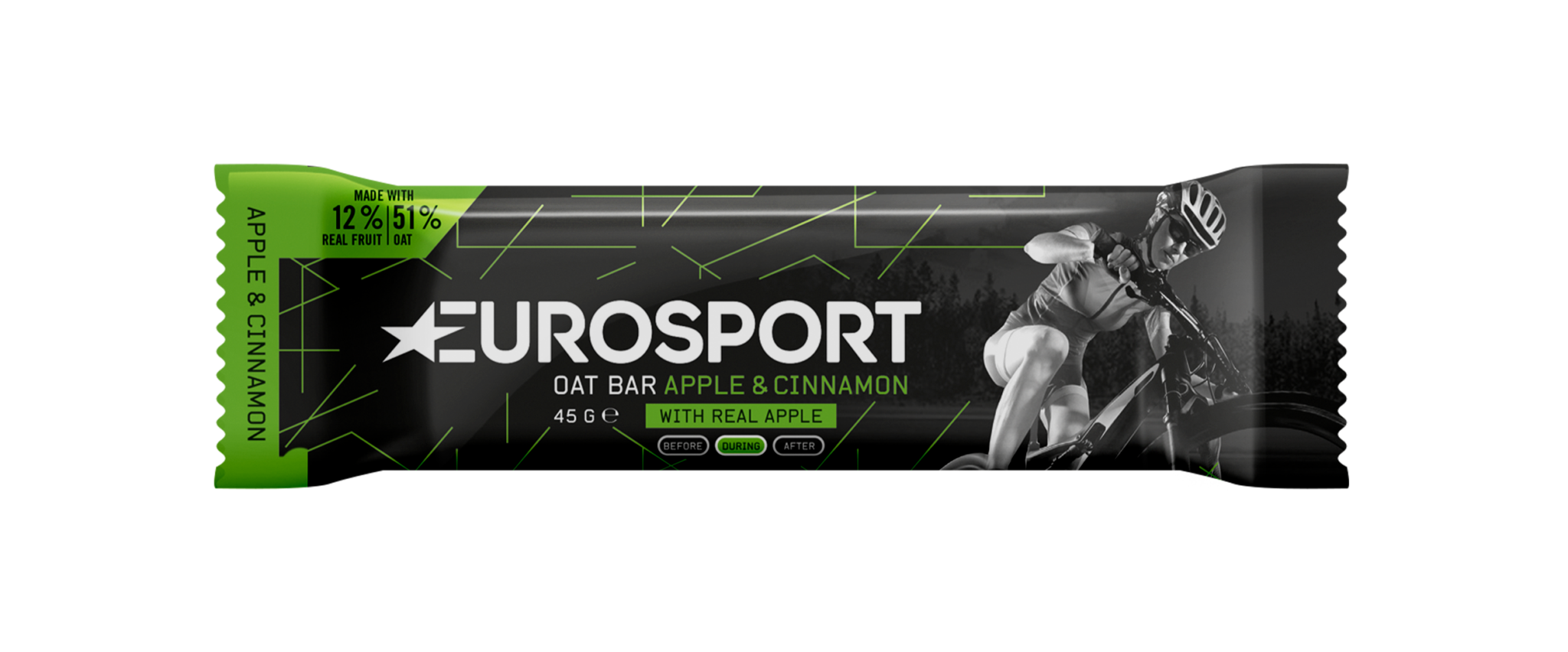 Eurosport - Oat Bar Apple Cinnamon - Reep - 3D