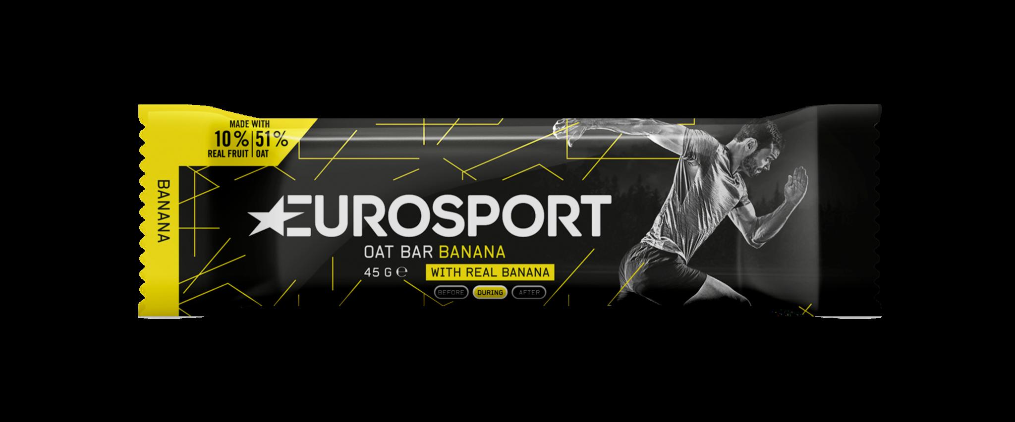 Eurosport - Oat Bar Banana - Reep - 3D