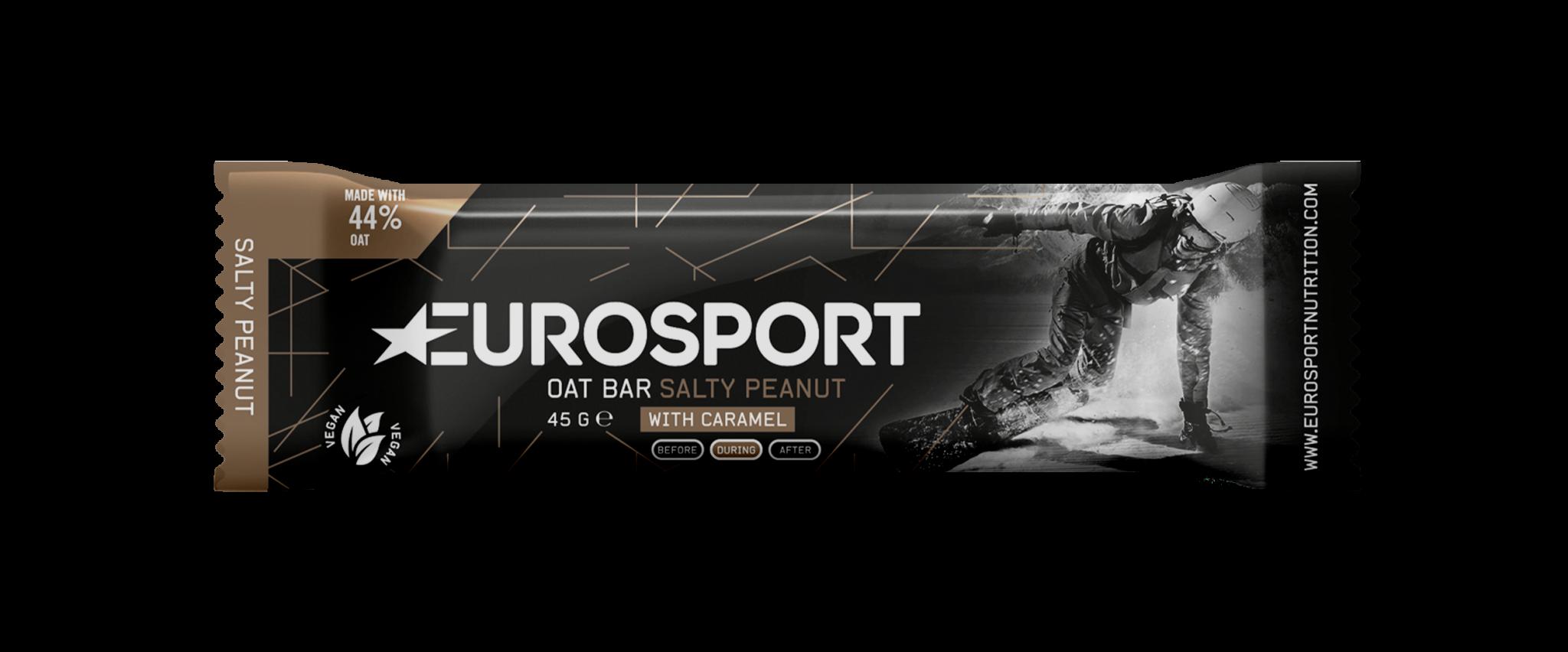 Eurosport - Oat Bar Salty Peanut - Reep- 3D